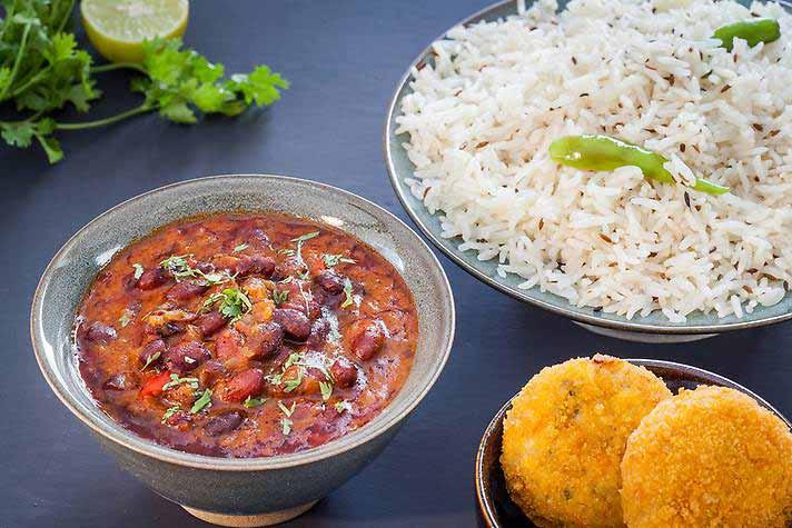 Rajma Chawal - Mothers Kitchen